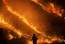 Photo of The fire engulfs vast areas of California in USA