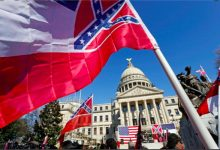 Photo of Mississippi.. The last US state to remove the symbol slavery from its flag