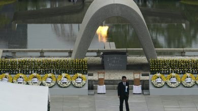 Photo of Under the siege of Corona .. Japan commemorates the 75th anniversary of the Hiroshima nuclear bomb