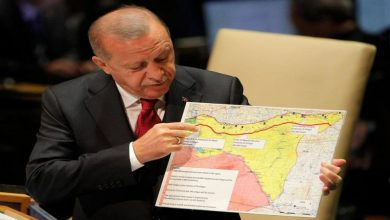 Photo of Erdogan: What is America doing in Syria and why did it bring 3 thousand truckloads of weapons here ??