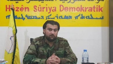 "Photo of Omar Al-Idlibi, a leader in the SDF, told to ""Xeber24"": Russia is seeking to achieve a military settlement and not activate a political solution"