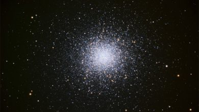 Photo of A spherical star cluster has surprisingly few heavy elements