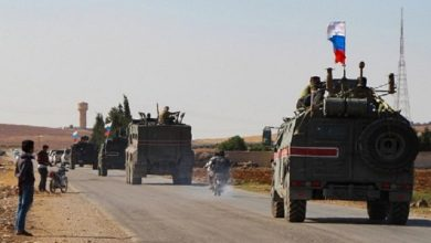 "Photo of Russia and Turkey are conducting a new joint patrol east of ""Kobane"" in northern Syria"