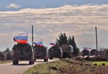 """Photo of Once again .. running a joint """"Russian-Turkish"""" patrol west of Kobani"""