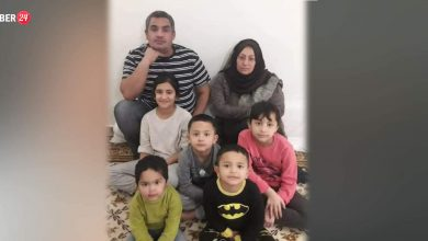 "Photo of Kurdish family in Greece says they are threatened with mass murder and appeals to the international community through ""Xeber24"" to consider their situation"