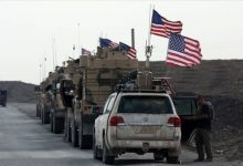 Photo of New military reinforcements for the international coalition forces enter an oil field in eastern Syria