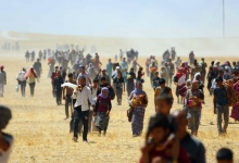 Photo of After Erdogan's threats.. hundreds of families in Shengal demand return to camps and Kurdistan region suspends