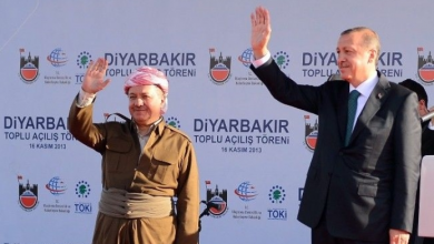 "Photo of Why does ""Barzani"" always make himself a partner of the notorious Alliance of Turkey and Qatar?"