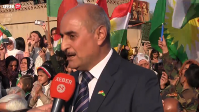 "Photo of Kurdish Leader of the Kurdistan Democratic Party (KDP) Syria via ""Xeber24"" sends message to national unity parties ""PYNK"" on Kurdish dialogue"