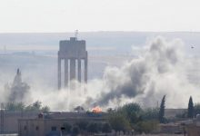 """Photo of Turkey and its factions target civilian homes in """"Ain Issa"""""""